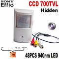 1 3 Sony CCD 960H 700tvl Security Indoor CCTV PIR camera Style mini camera mini ccd