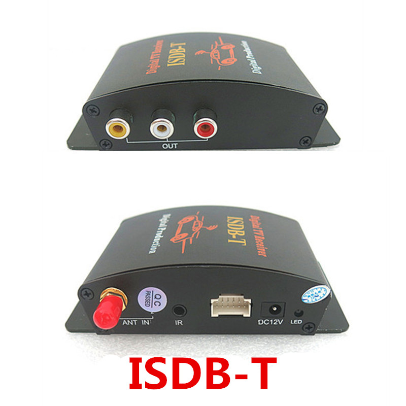Support 140-190KM/H ISDB-T Brazil One seg Digital TV Tuner Receiver suitable for use South America All countries