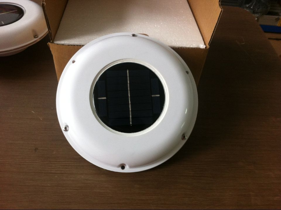 SOLAR VENT FAN AUTOMATIC VENTILATOR USED FOR CARAVANS BOATS GREEN HOUSE BATHROOM SHED HOME CONSERVATIONS(China (Mainland))