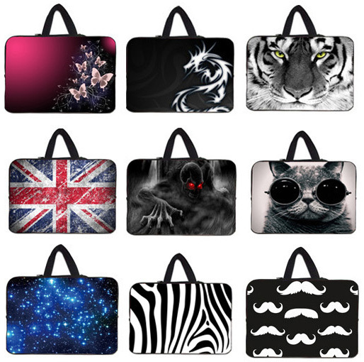 """New Laptop Computer Pouch Cover Bag + Handle 17"""" 17.1 17.3 17.4 inch Notebook Cases Shell For Lenovo Y70-70T-ISE 17.3"""" Y70 Touch(China (Mainland))"""