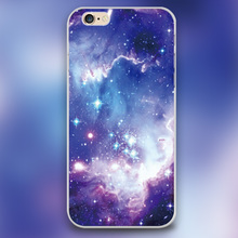 Galaxyy wonder nebula Design black skin case cover cell mobile phone cases for Apple iphone 4 4s 5 5c 5s 6 6s 6plus hard shell