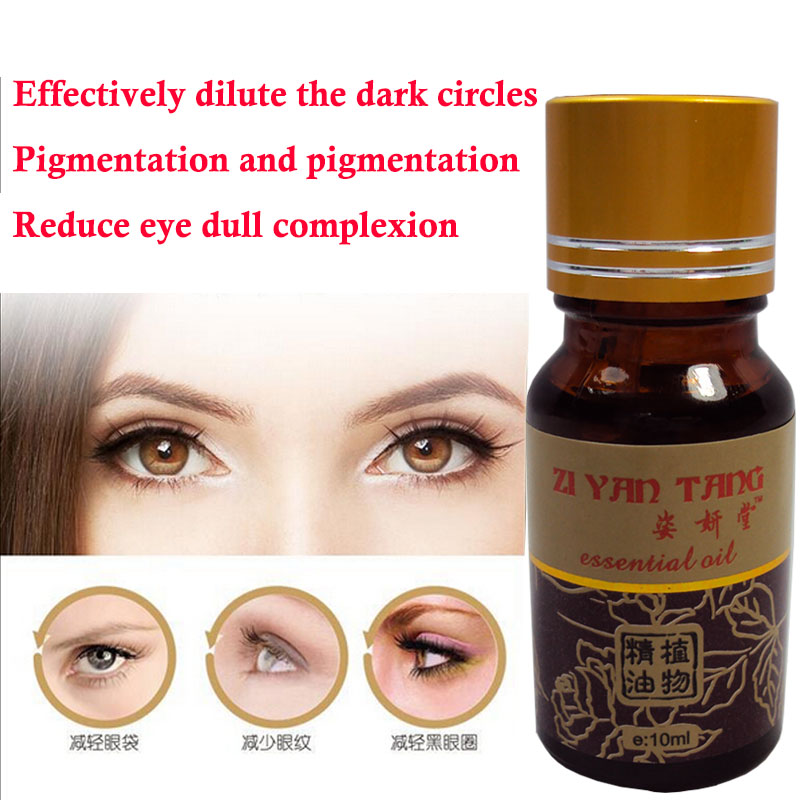 100% Natural Eyes Essential Oil for Relieve Tired Eyes and Dark Circles Eye Care Massage Oil 10ml(China (Mainland))