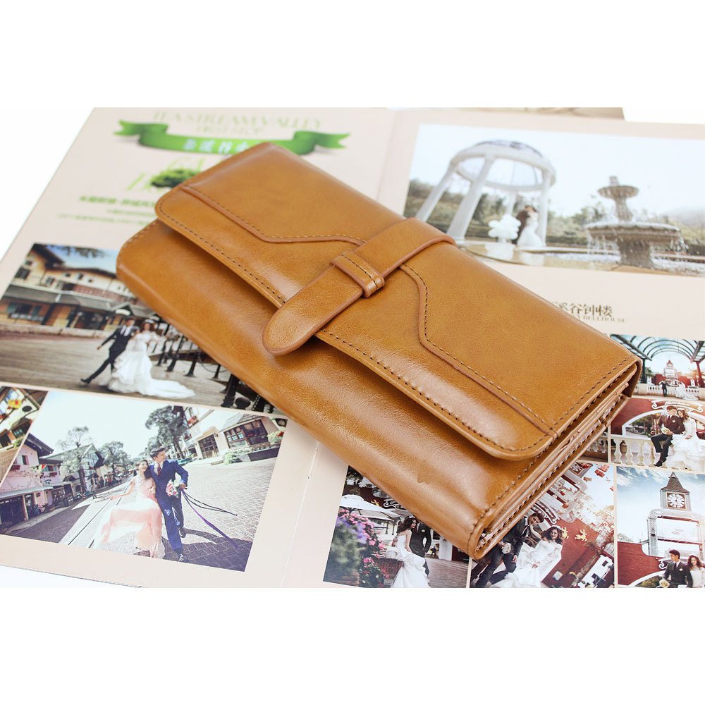 Fashion Women Wallet Long Design Leather Wallets Lady's Clutch Purse Handbag Card Holder Case Free Shipping(China (Mainland))