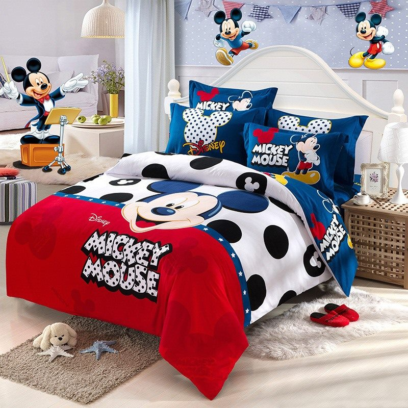 Online Get Cheap Mickey Mouse Bedding Sets