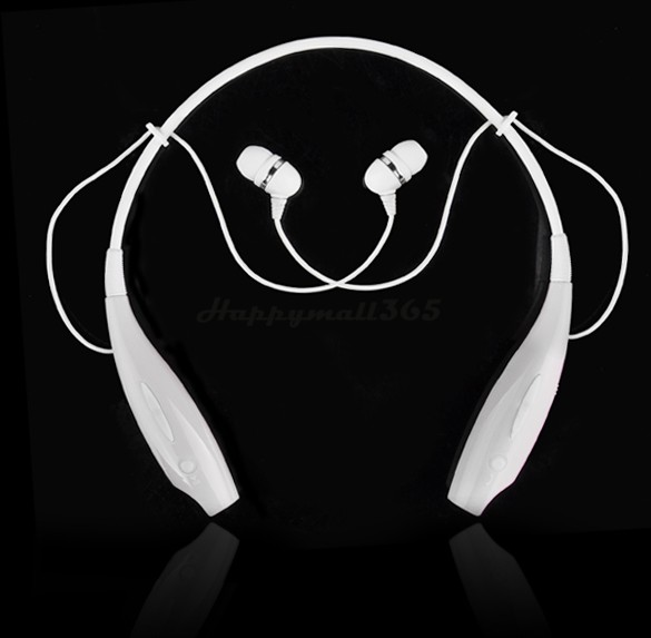 Hot Wireless Stereo Bluetooth Headphone Headset Neckband Style Earphone for iPhone Nokia HTC Samsung 25