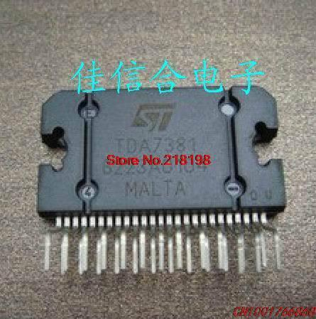 [E] Xinhe good audio TDA7381 ZIP-25 4x25W four bridge car audio amplifier IC(China (Mainland))