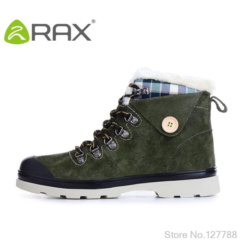 New Arrival RAX outdoor in-tube snow boots autumn and winter Suede leather man shoes England Retro motorcycle boots B929(China (Mainland))