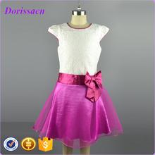 Retail  Girl Dress Pattern Princess Dress teenage Girls European Style Sundress Age 7-12T Brand Designer Kids Clothes Autumn