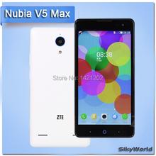 КОРЕНЬ + Play магазин + Оригинальный ZTE V5 MAX FDD LTE 5.5  «1280 * 720 Snapdragon MSM8916 Quad Core 2GB 16GB ROM 5.0MP 13.0MP WIFI смартфон