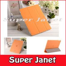 3 Pair/lot 3 PC PU Leather Magnetic Smart Cover For iPad mini 3 +3 PC Crystal Hard Back Case For i Pad mini 3 Multi-Color(China (Mainland))