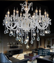 Fashion home decorative Luxury large modern crystal chandeliers with 6 lights 8lights 15lights indoor lights(China (Mainland))