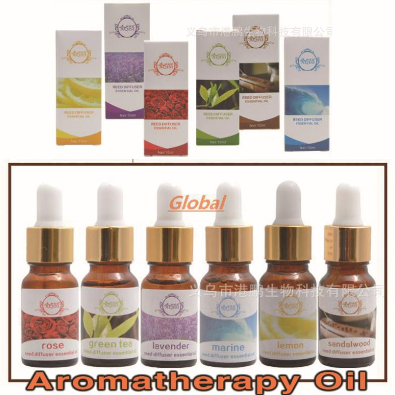 2 bottles authentic France sandalwood essential oil aromatherapy aroma-free Replenisher rattan Suite 6 flavor choice 2 bottles(China (Mainland))