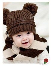 Baby boys girls apparel & accessories warm hats & caps products kids red cartoon girl winter christmas new year children cap hat(China (Mainland))