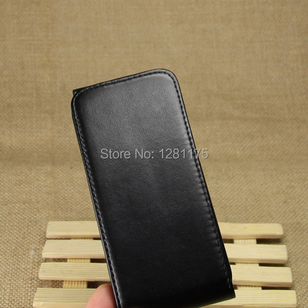 For HTC M8 mini Premium Ultra Slim Leather Case - Business Type, Luxury Hand-made Flip Cover for HTC M8 mini(China (Mainland))