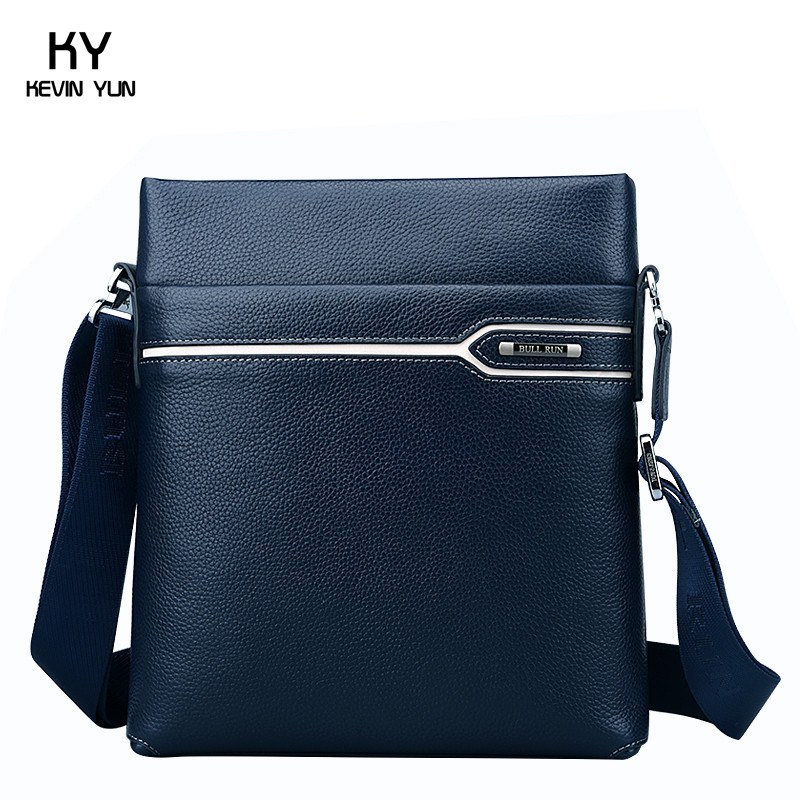 2015 New genuine leather bag men messenger bags casual brand male crossbody shoulder bag <br><br>Aliexpress