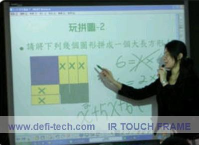 """40 """" IR Touch Screen Panel without glass, 16:9 fromat including multi touch software(China (Mainland))"""