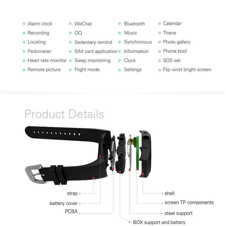 ถูก กีฬาGPS Watchสมาร์ทอัตราการเต้นหัวใจติดตามโทรศัพท์A Ndroid SmartWatchสนับสนุนที่มีช่องใส่ซิมการ์ดPushข้อความบลูทูธ