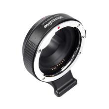 Buy Commlite EF-MFT Electronic Aperture Control Lens Mount Adapter Canon EF & EF-S Lens Camera M4/3 MFT GH4 GH5 GF6 GX7 EM5 for $128.80 in AliExpress store
