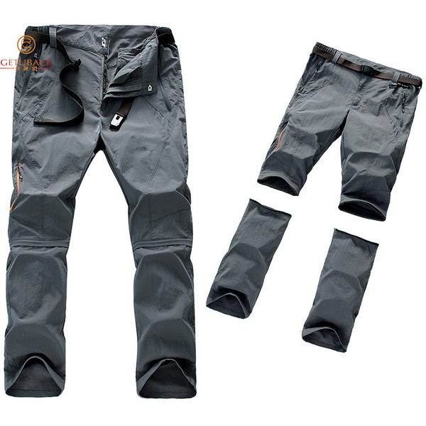 2015 NEW Men Brand Bamboo Fiber Hiking Quick Dry Pants Summer Ultra-thin Outdoor Pants fishing camping trekking Trousers NA154(China (Mainland))