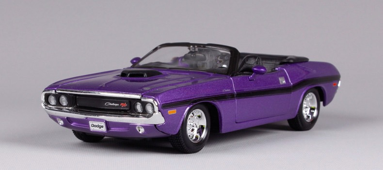 Car Styling 1:24 High Quality DieCast Alloy For Purple RT Convertible Muscle Sport Car Scale Model Kid Toy Best Gift Collection(China (Mainland))