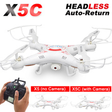 X5C RC Drone with 720P HD Camera Remote Control Quadcopter Helicopter 2.4G 6-Axis Profissional Dron / X5 Drones without camera(China (Mainland))