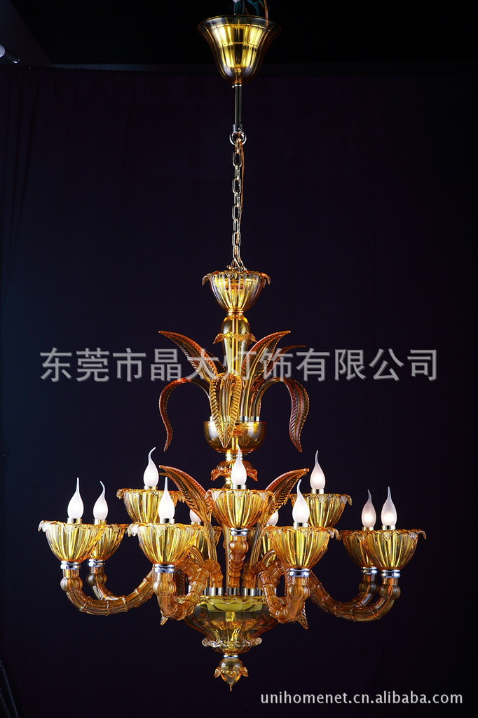 Modern crystal chandelier, LED modern crystal lamps, crystal candle lamp - hundred companies Crystal Lamp(China (Mainland))