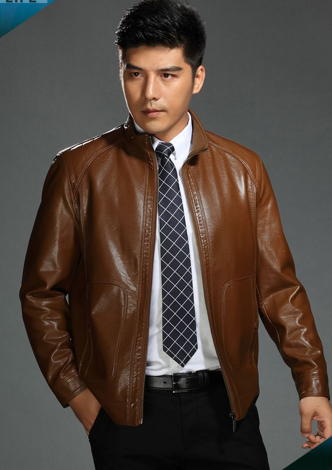 Dress Leather Jackets For Men - JacketIn