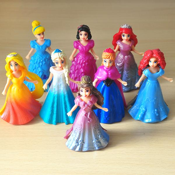 Cinderella Cake Topper Set