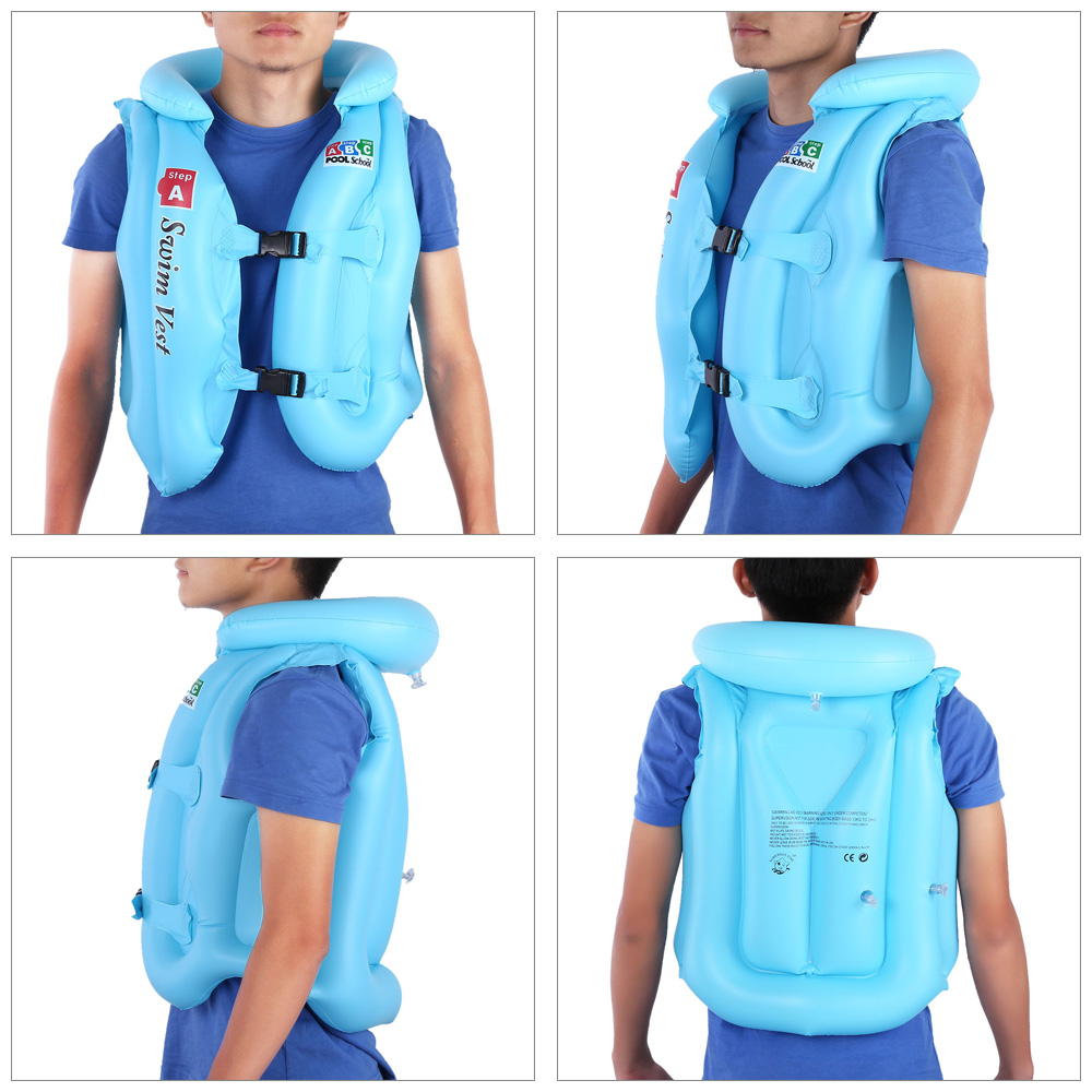 Adjustable Children Kids Babys Inflatable Life Vest Swiwmsuit Child Swimming Safety Vest for Boys and Girls Drifting 3 Size(China (Mainland))