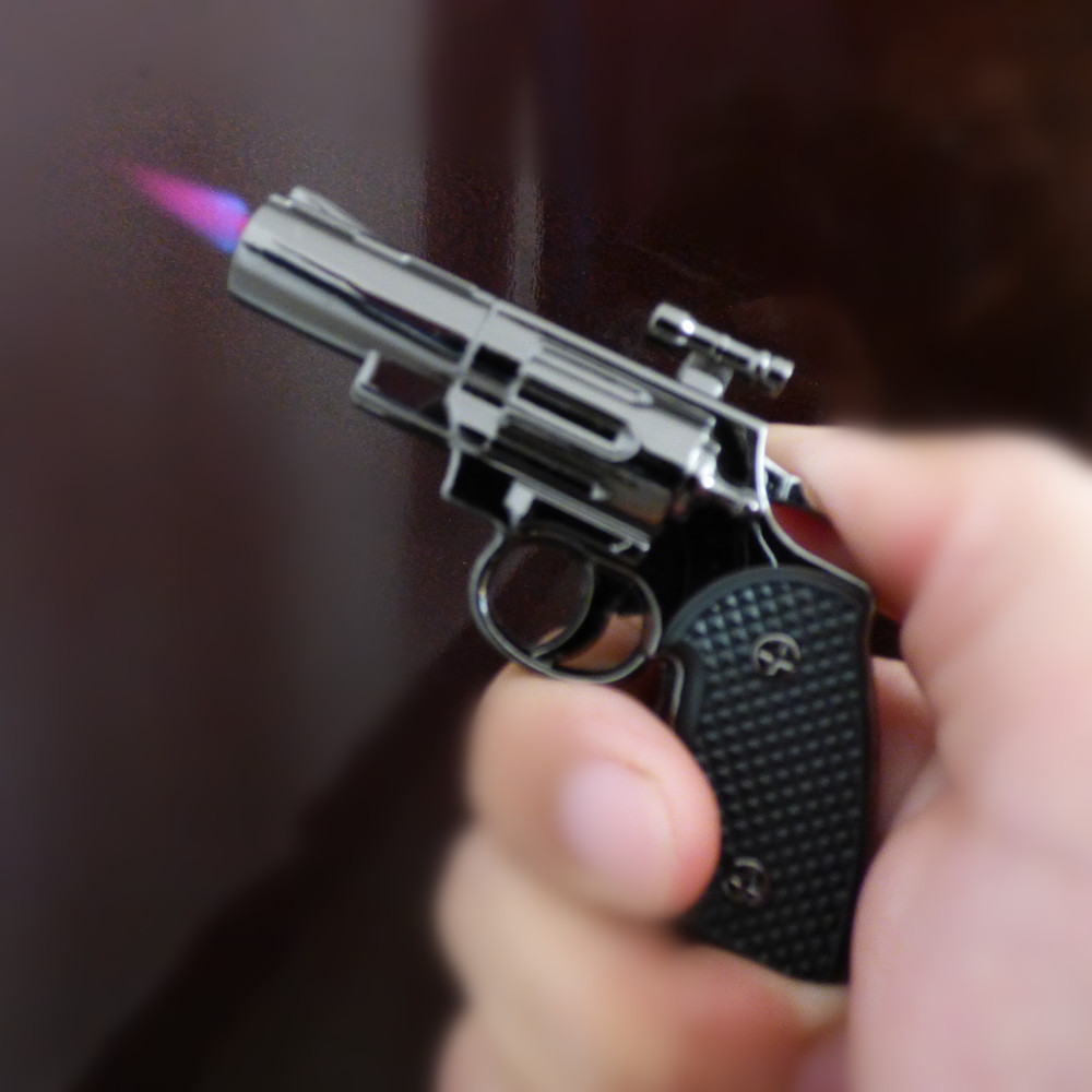 new mini GUN windproof turbo LIGHTER(China (Mainland))