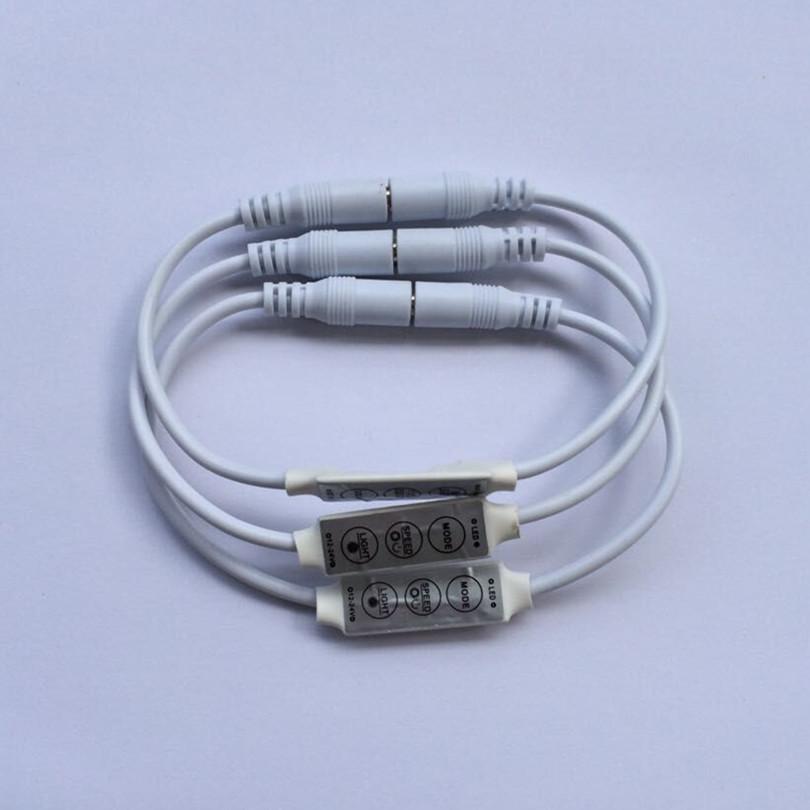3 Kanal LED-Dimmer 6A für einfarbige LED-Streifen
