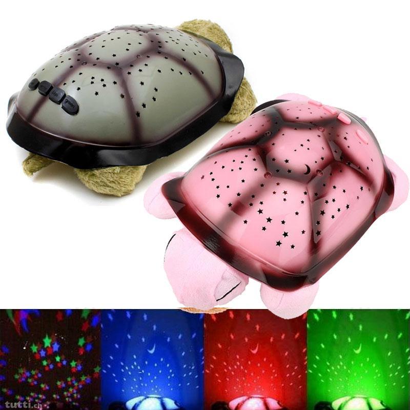 Abajur Led Twilight Switch Night Light USB Musical Turtle Light Starry Sky Constellation Projector Table Lamp Baby Luminaria(China (Mainland))