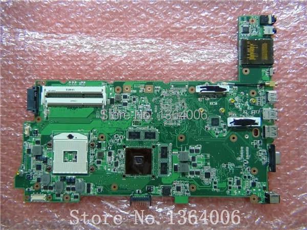 For ASUS N73SV Laptop motherboard Mainboard NVIDIA N12P-GS-A1 DDR3 N73S N73SM REV:2.0 Top quality(China (Mainland))