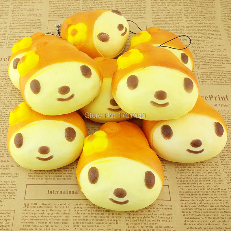 Squishy Bread Jumbo : 10CM Jumbo Squishy My Melody Bread Scented Bow Cellphone Charm Strap Soft Key Chains 1PCS-in ...