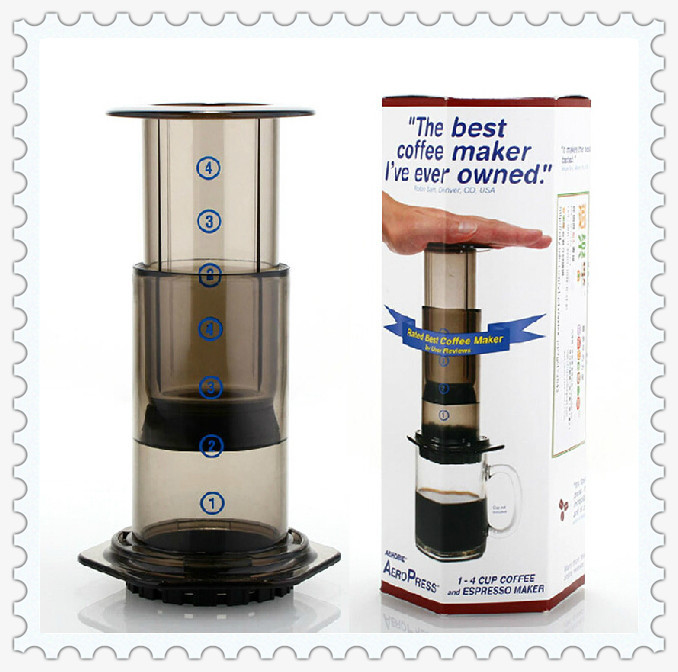 Hot Sell Free hipping Aeropress Coffee Maker Coffee French Press Pot