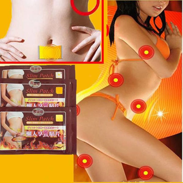 20pcs The 3rd Generation Slimming Navel Stick Body Building Burning Fat Weight Loss Slim Patch