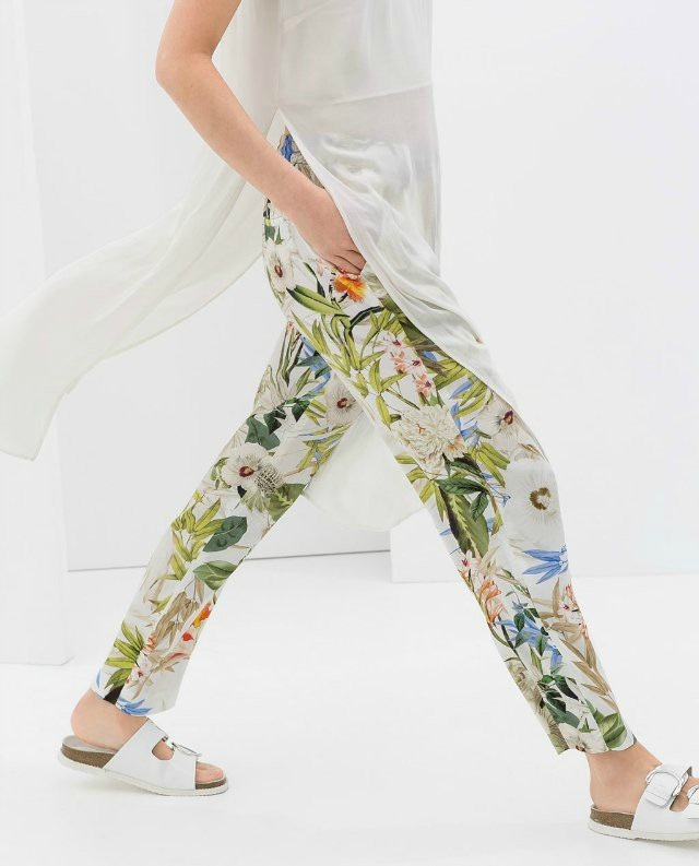 Creative NEW Women39s FlameDat Floral Jogger Pants