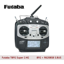 Futaba T8FG Super FASST 14-Channel 2.4GHz Transmitter + R6208SB Receiver (without battery) For Helicopter or Alrplane