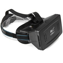 RITECH II Head Mount Plastic Version 3D VR Virtual Reality Glasses Google Cardboard Movies Games for 3.5 to 6 inch Smartphone(China (Mainland))
