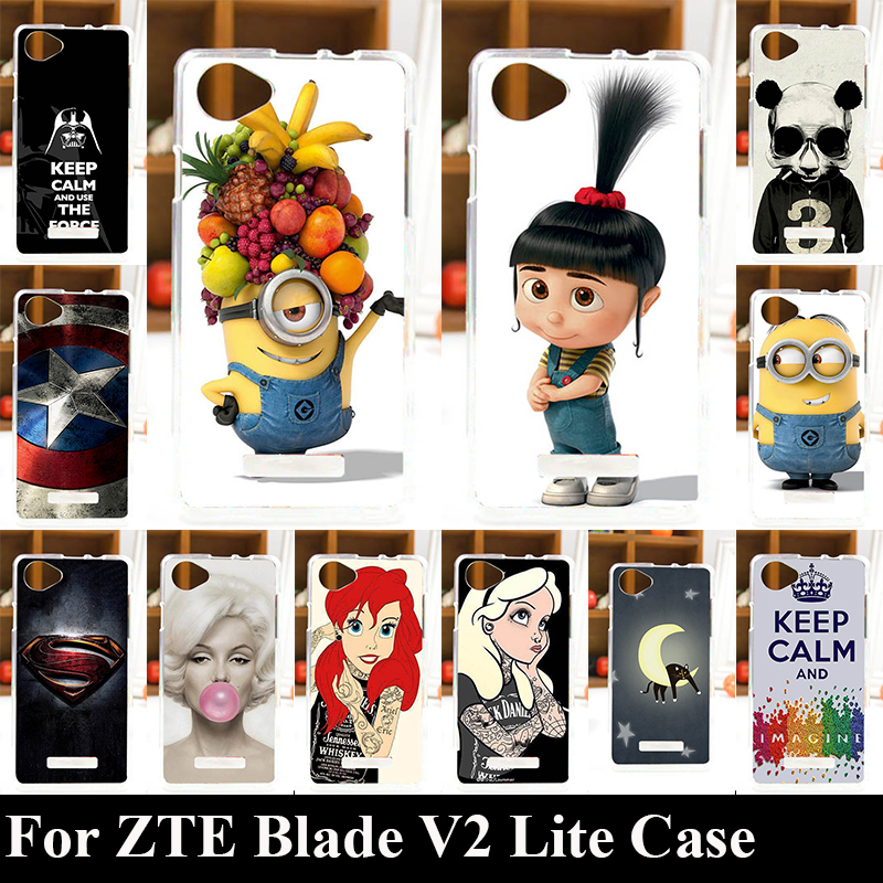 For ZTE Blade V2 Lite A450 4G LTE Case Soft TPU Plastic Mobile Phone Cover Case DIY Color Paitn Cellphone Bag Shell(China (Mainland))