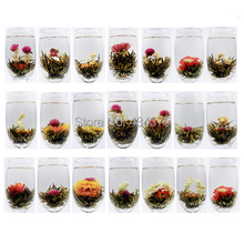 20 Different chinese handmade flower blooming tea ball artistic tea health and beauty organic natural flower tea free shipping(China (Mainland))