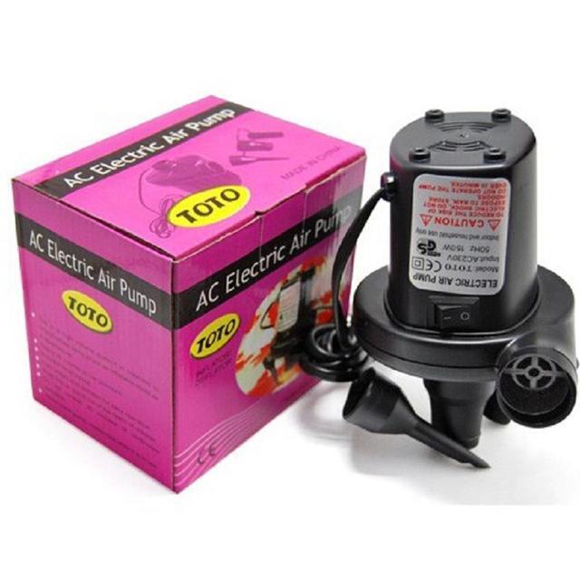 Электрический воздушный насос накачивайте выкачать для игрушки младенческой бассейн случайных цветов