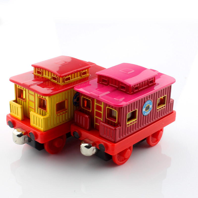 2pcs set CABOOSE Thomas and friends trains trackmaster diecast the tank engine tomas metal models thomas trains toys for kids<br><br>Aliexpress