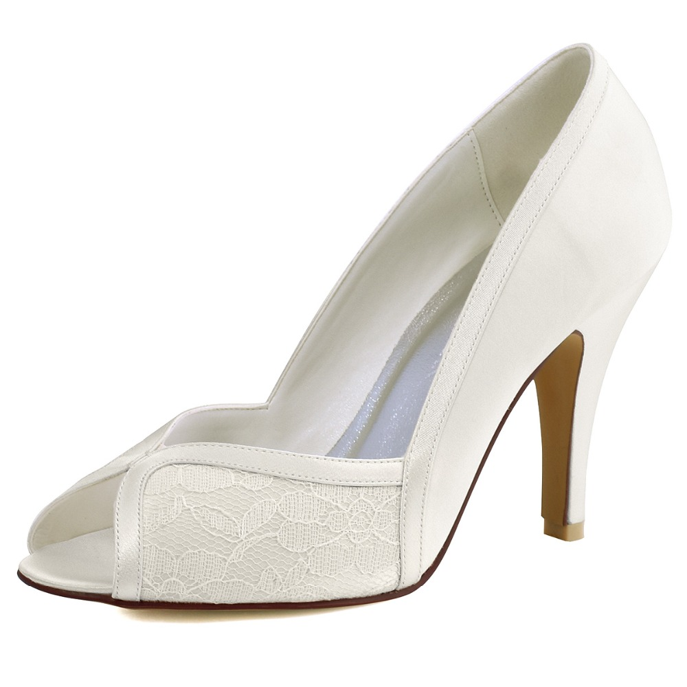 Ivory Lace Pumps Promotion-Shop for Promotional Ivory Lace Pumps ...