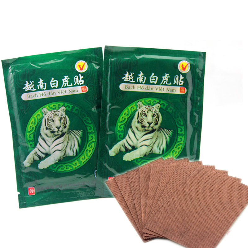 16pcs Tiger Balm Plaster Pain Relieving Plaster Muscle Back Pain Athritis Strain Rheumatism Body Massage Relaxation Human Care(China (Mainland))