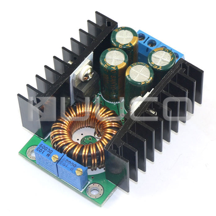 5 PCS/LOT 300W Charger/Power Adapter DC 7~40V to DC 1.2~35V 8A Adjustable Voltage Regulator Buck Converter Laptop Power Supply(China (Mainland))