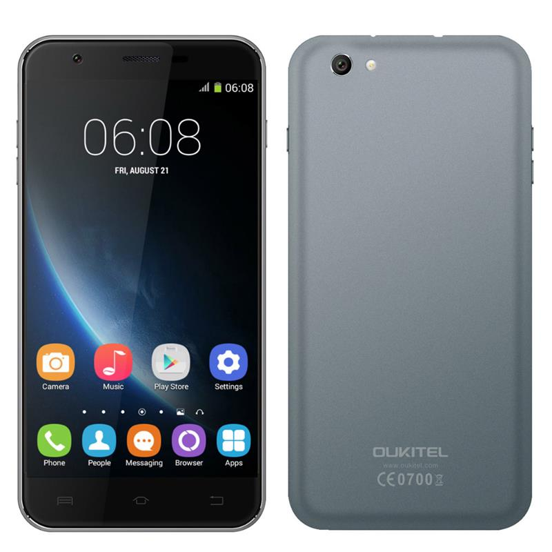 Original OUKITEL U7 Pro 5.5inch Android 5.1 MTK6580 Quad Core Cell Phone,Ram 1GB+Rom 8GB Smartphone,1280*720 3G Mobile Phone(China (Mainland))