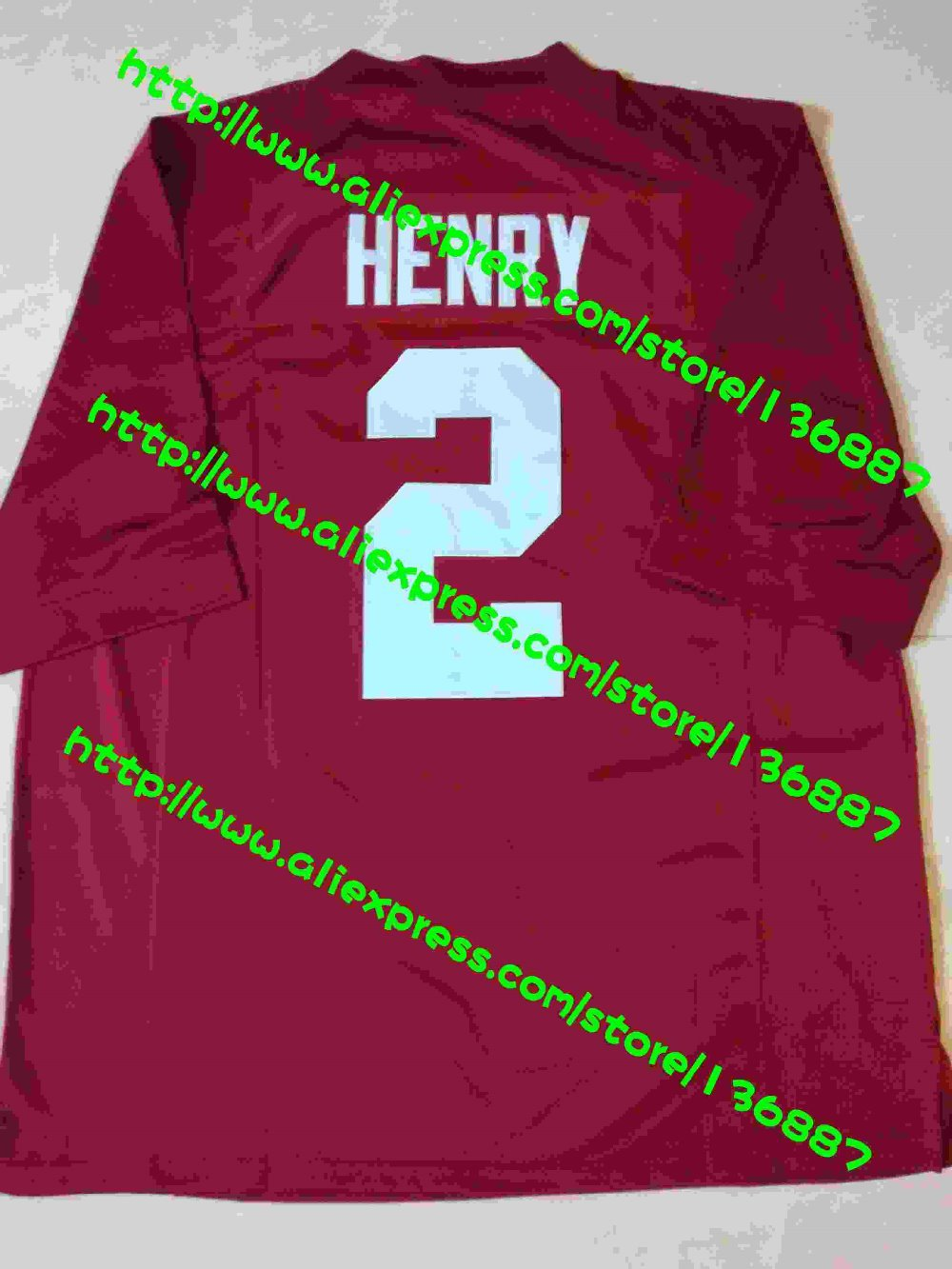 Alabama Crimson Tide #27 #2 Derrick Henry Red White,NCAA College Football Jerseys,2016 New Limited Stitched Jersey.Free Shipping(China (Mainland))