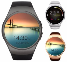 Buy New KingWear KW18 Bluetooth Smart Watch Phone Full Screen Support SIM TF Card Smartwatch Heart Rate apple IOS huawei Android for $43.39 in AliExpress store