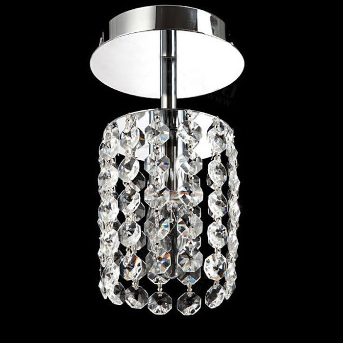 Fashion LED crystal ceiling lamp bedroom stainless steel Ceiling Lights led lamp K9 crystal led lustre light Ceiling Lights(China (Mainland))